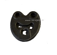 mounting rubber for middle silencer, W124