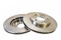 brake disc, front, 1 pair, W124