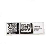 Rettungskarte QR-Code Limousine